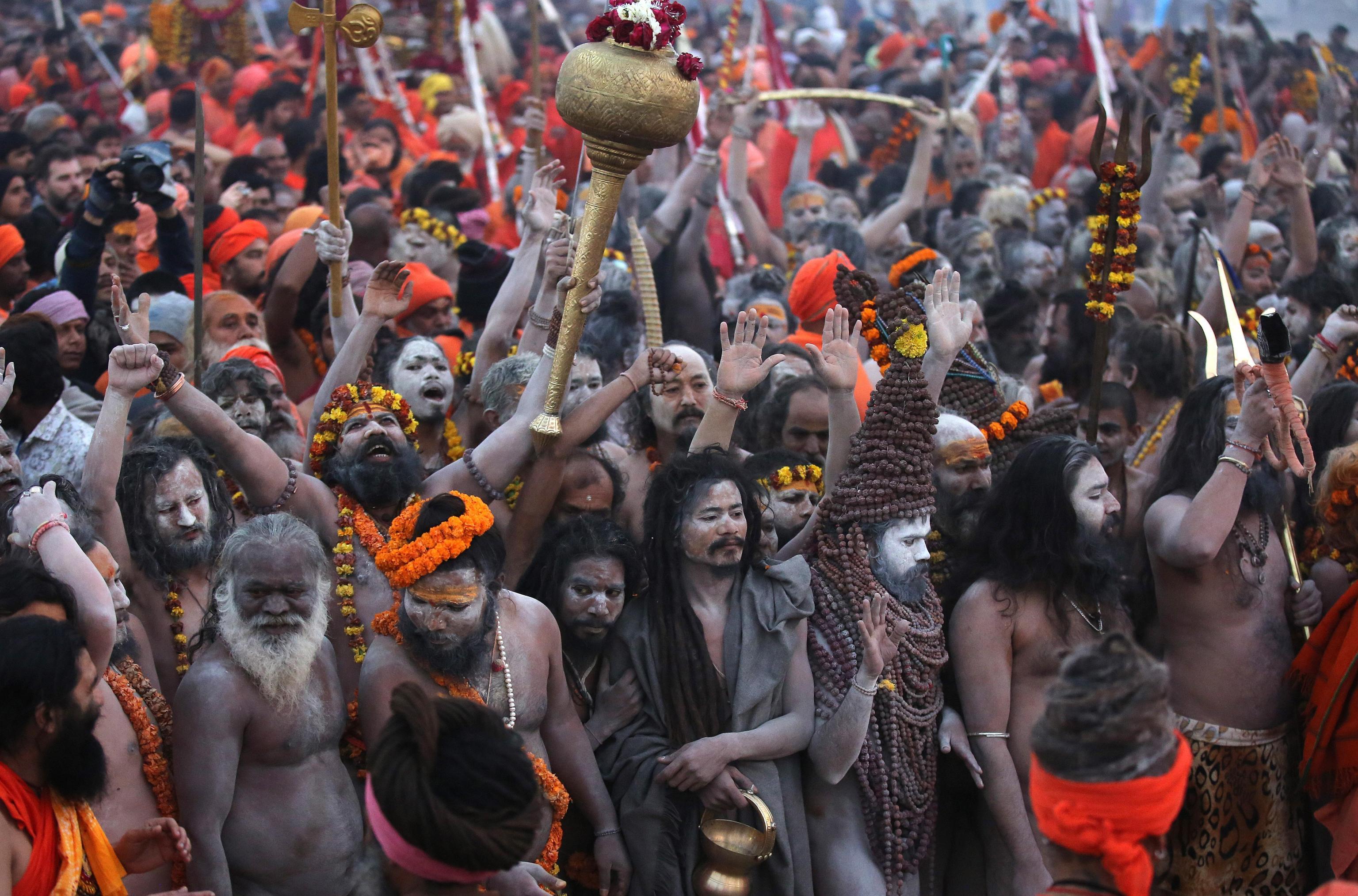 Momenti della processione