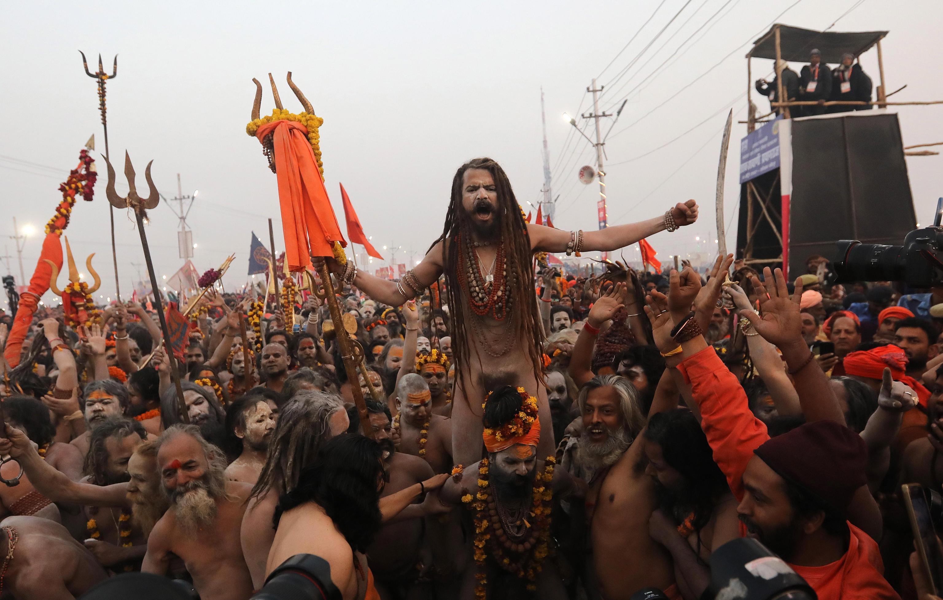 Pellegrini del Kumbh Mela