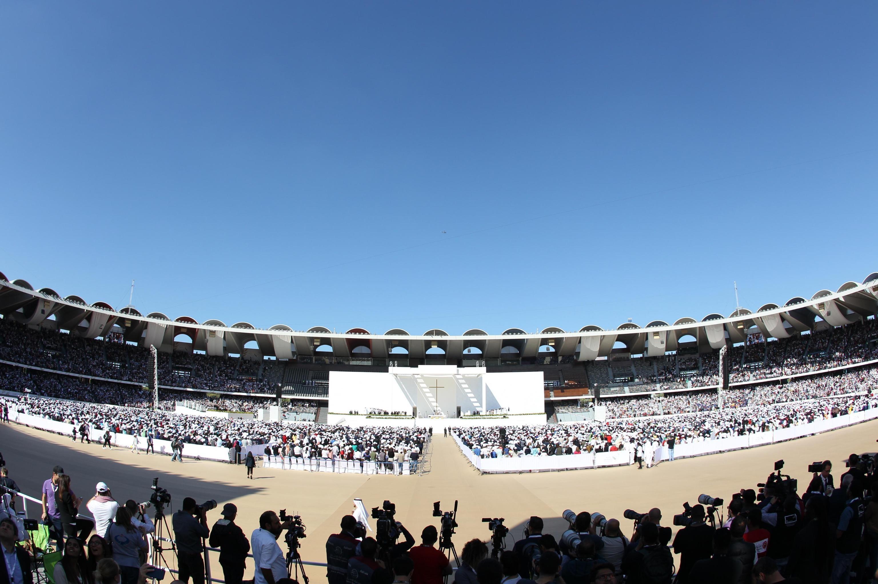 Una panoramica dello Zayed Sports City