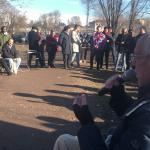 Nel bosco della droga, una manifestazione di solidarietà organizzata da Eris e da Il Gabbiano