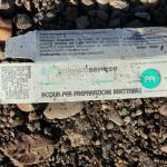 Tra i vari rifiuti nel Boschetto, una soluzione iniettabile