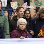 Greta Thunberg, la ragazza svedese simbolo delle proteste contro il cambiamento climatico, è la capofila delle manifestazioni in tutto il mondo