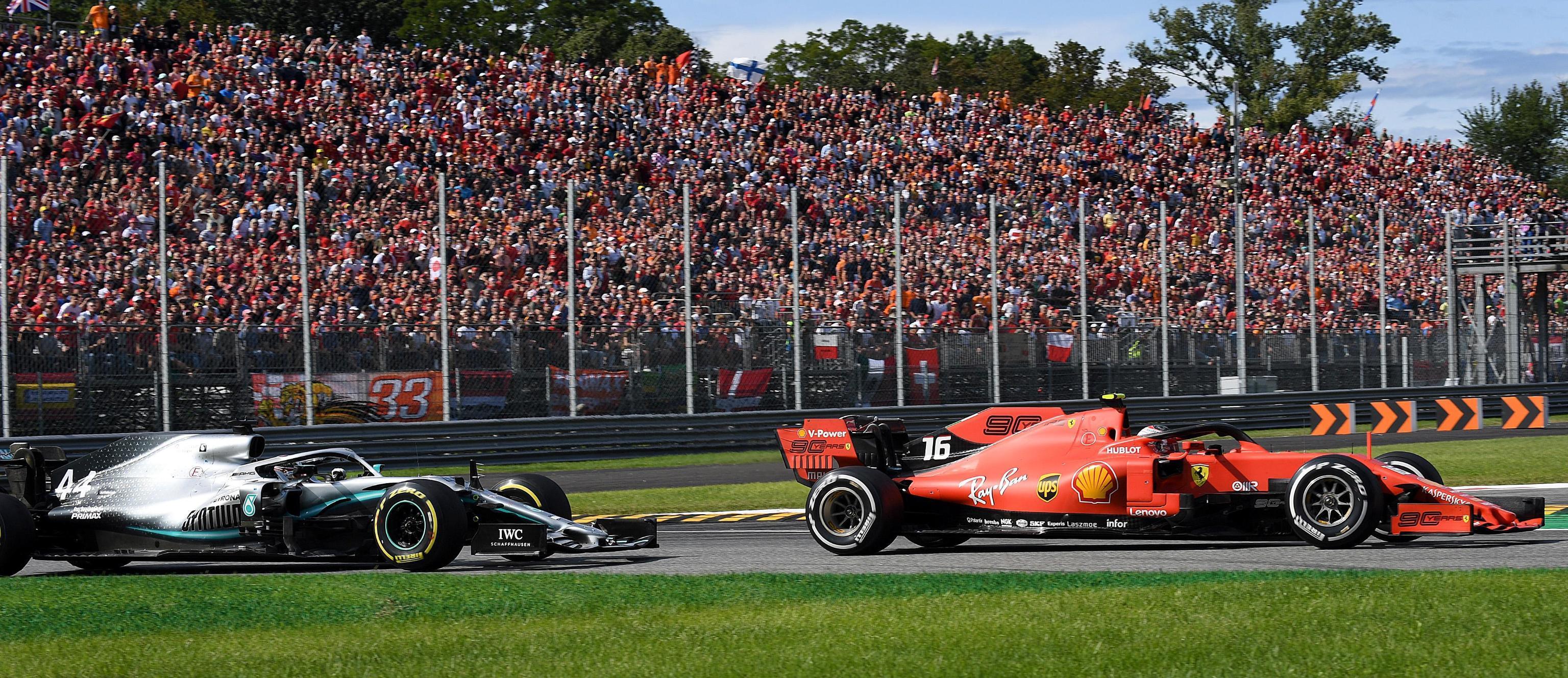 Il pilota della Ferrari ha dominato la gara: seguito da Hamilton, Charles Leclerc è sempre stato in prima posizione dall'inizio alla fine