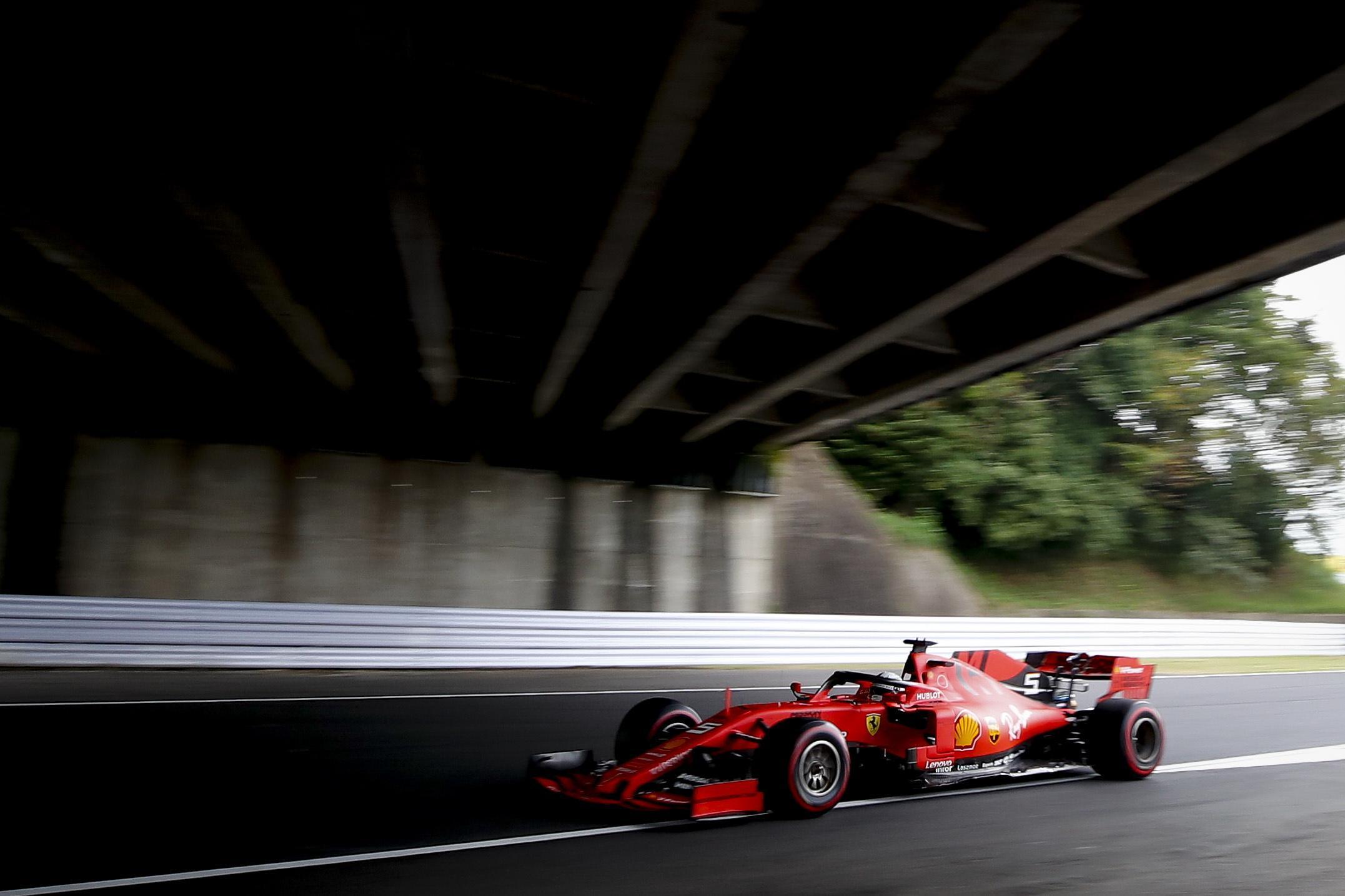 Sebastian Vettel in azione. Il pilota della Ferrari si è scusato per le incomprensioni con il box e il compagno di scuderia