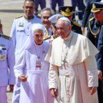 Il Papa assieme alla cugina suor Ana Rosa Sivori