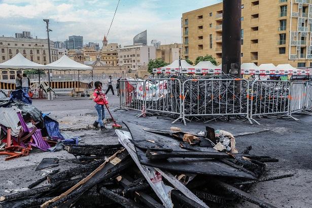Un'altra panoramica di piazza dei Martiri