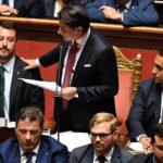 Conte contro Salvini, 20 agosto: il discorso del presidente del Consiglio contro l'allora vicepremier Matteo Salvini apre la crisi di governo in Italia, che porterà alla formazione di una nuova maggioranza tra M5S e Pd