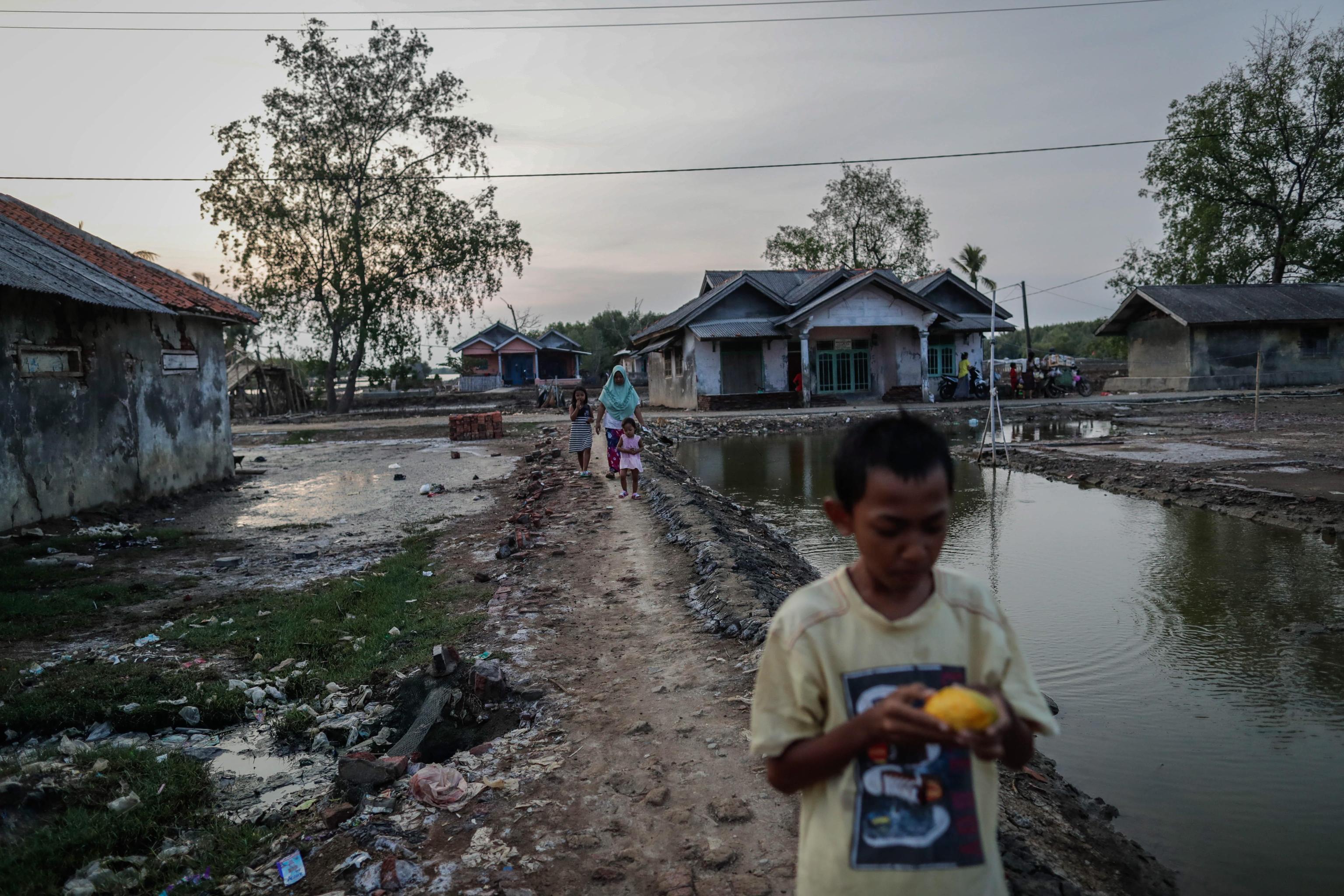 Così il villaggio di Pantai Bahagia rischia di scomparire