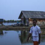 In passato gli abitanti del villaggio vendevano gamberi e pesce