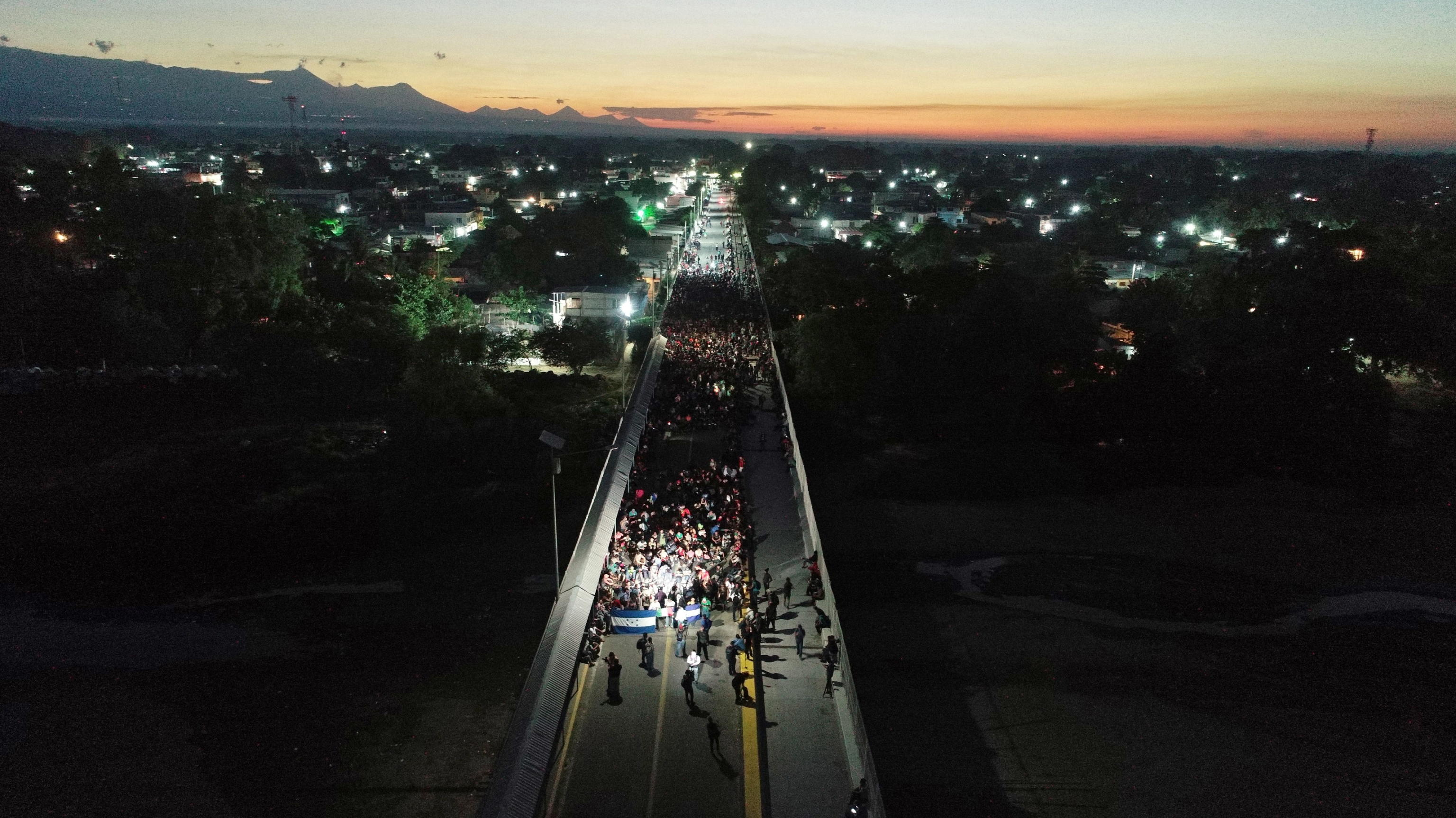 Dopo le tantissime carovane del 2019, quella dei migranti honduregni è la prima del 2020