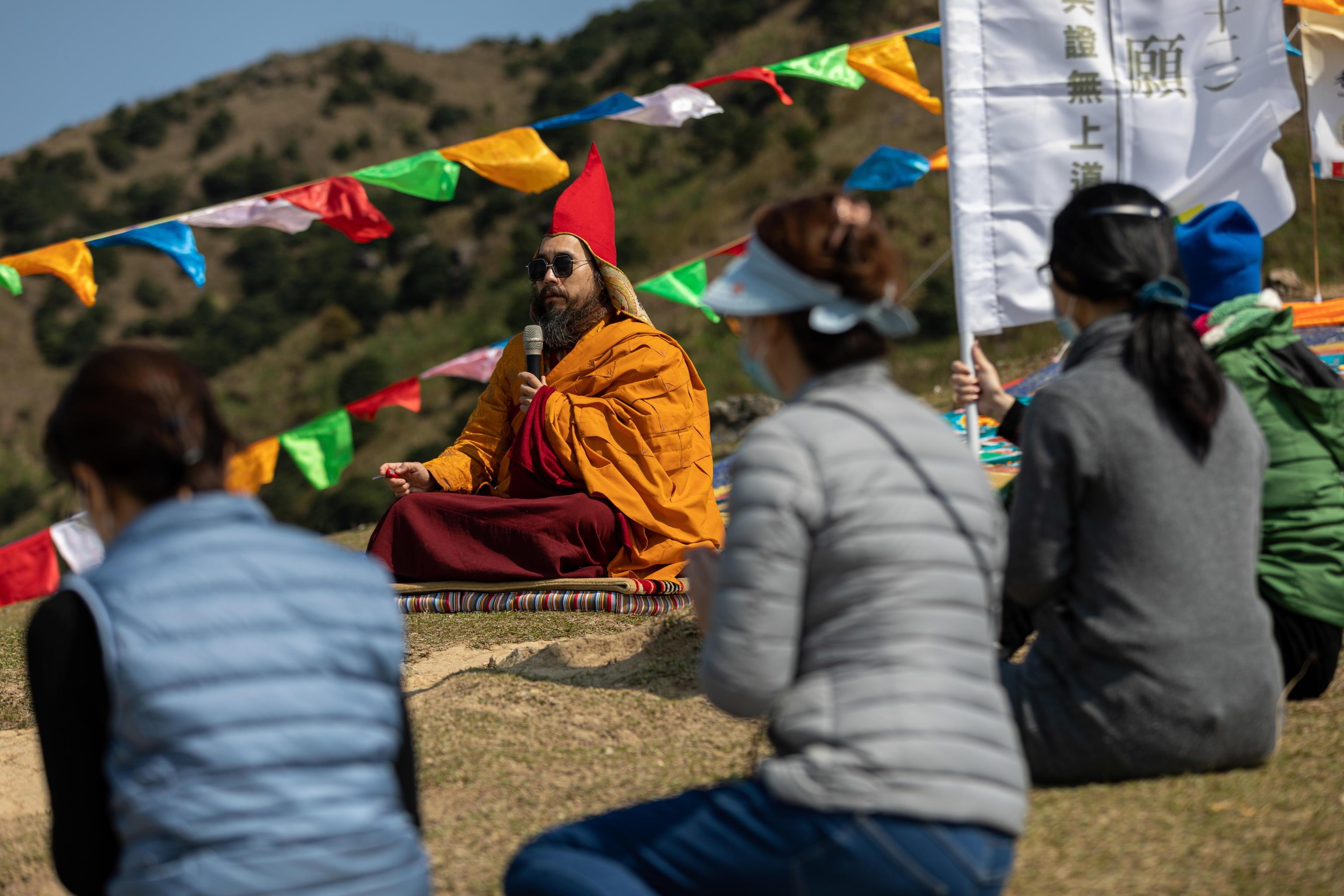 Fedeli al Buddha Sunning Festival