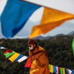 Le bandiere di preghiera sono usate per promuovere la pace