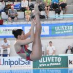 Federica Capra (MR Sport) campionessa italia di tuffi Master da un metro (282 punti)