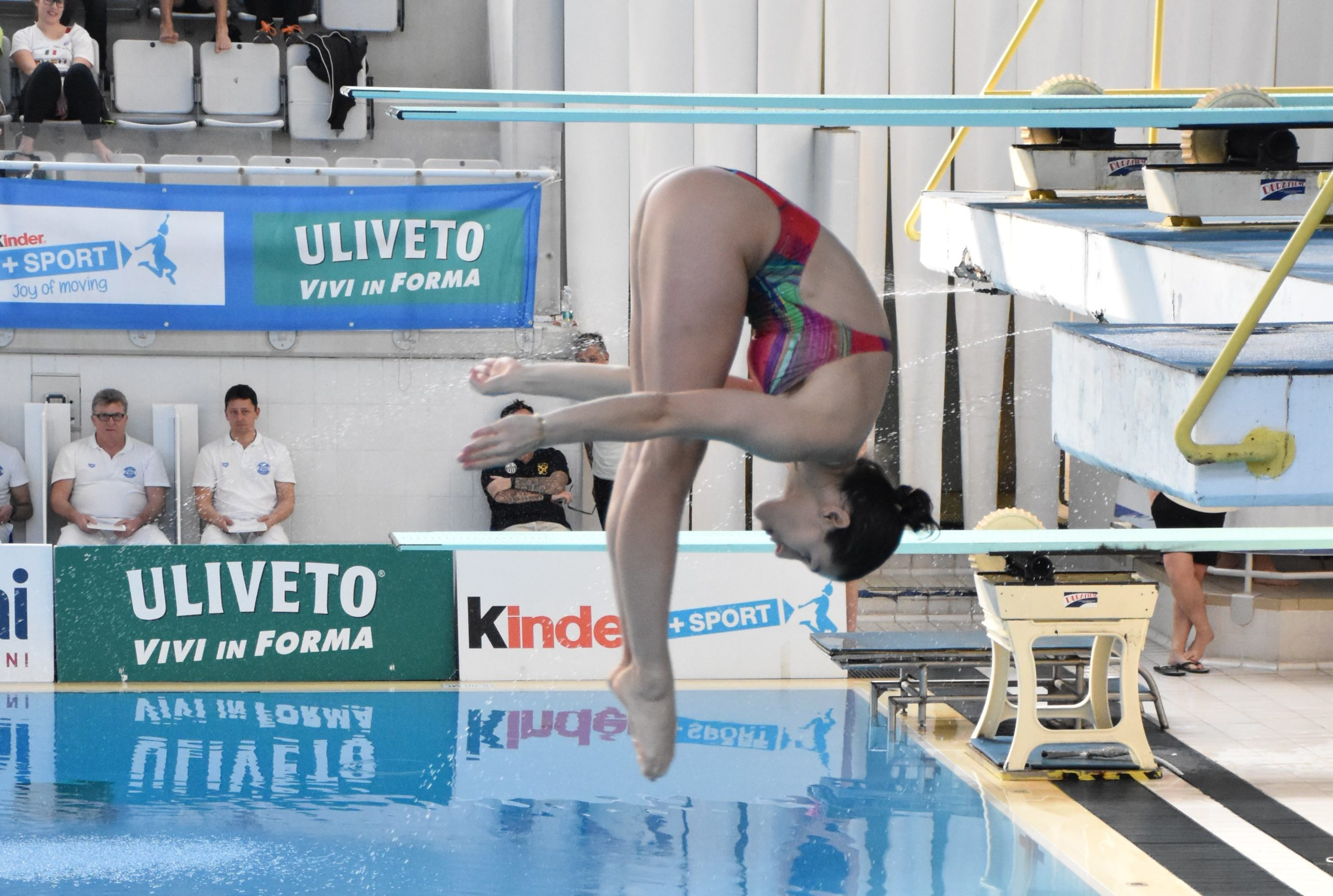 L'atleta Federica Capra (MR Sport) in gara da un metro