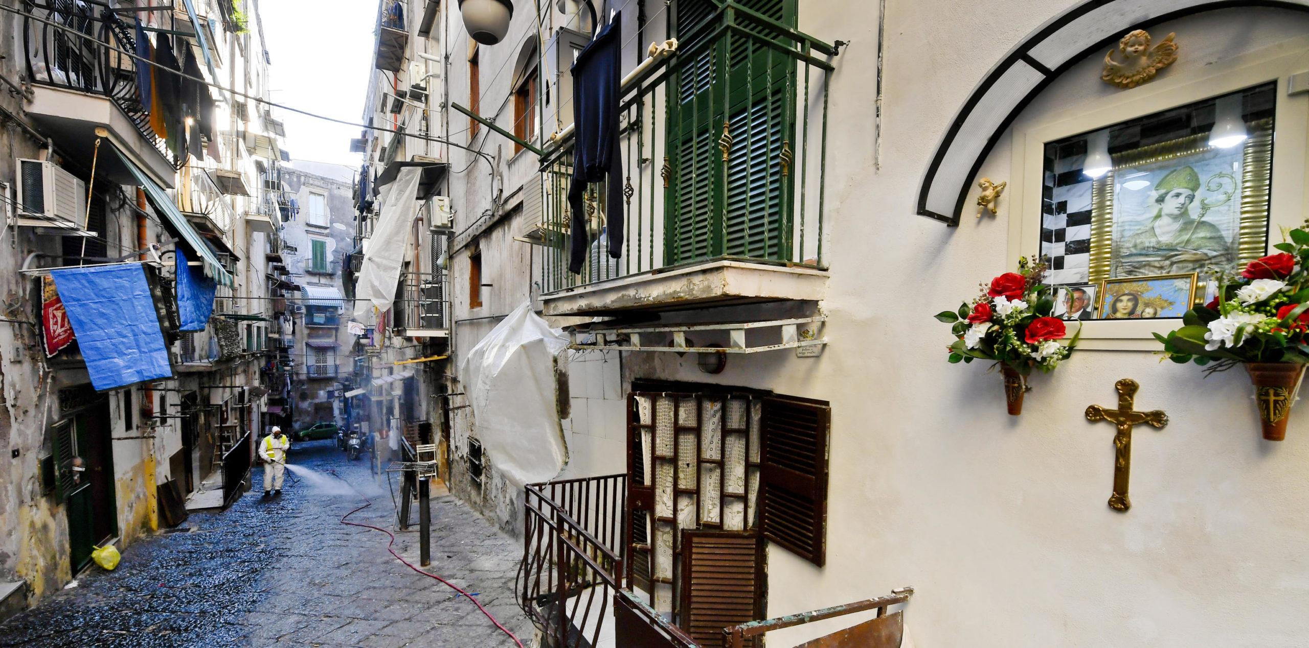 Con 460 casi accertati, la Campania è la regione del sud con il più alto numero di persone positive al Covid-19