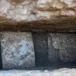 Scoperta grazie alle indagini archeologiche seguite all'apertura di una buca in Piazza della Rotonda