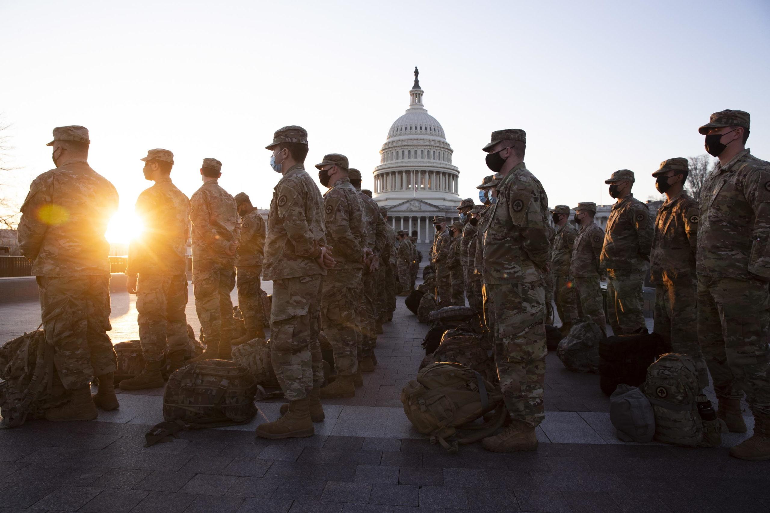 Trump manda 15mila soldati a Capitol Hill per l'insediamento di Biden