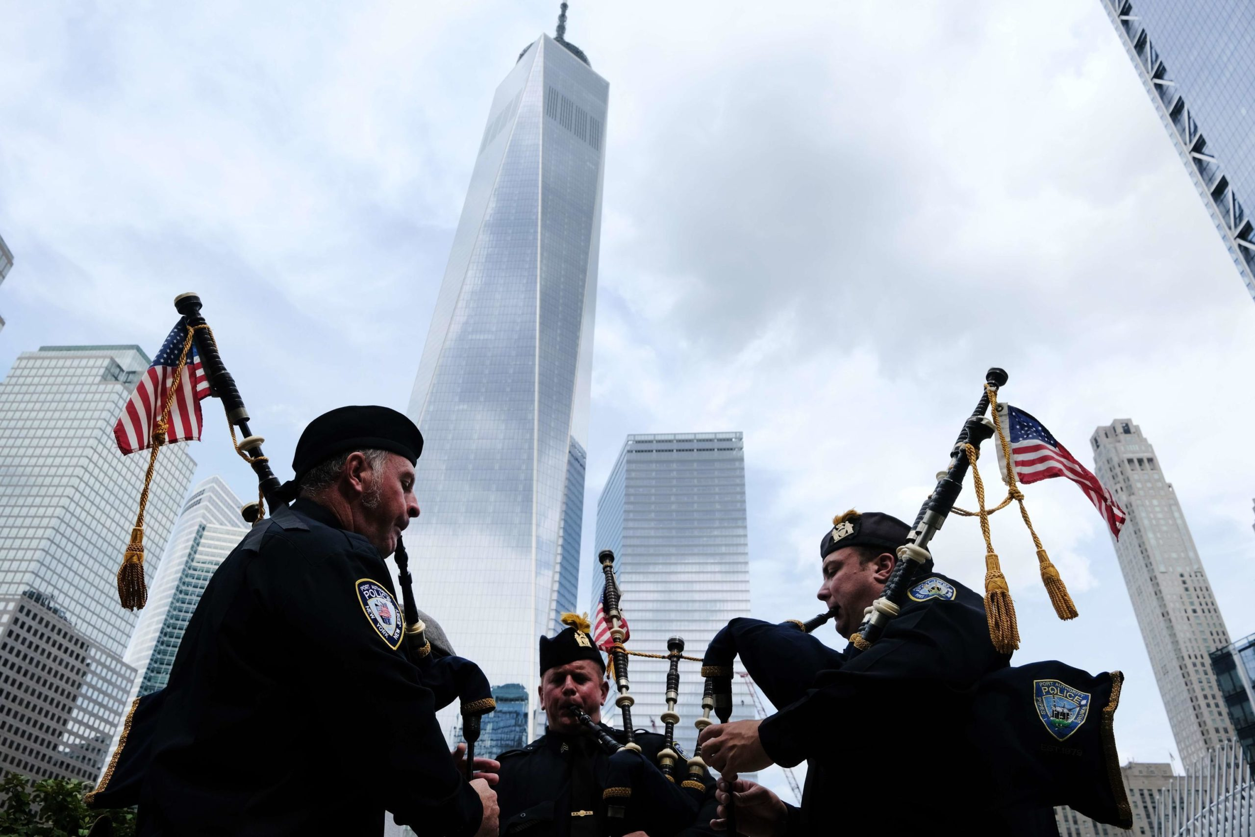 Preparativi per l'anniversario dell'11 settembre