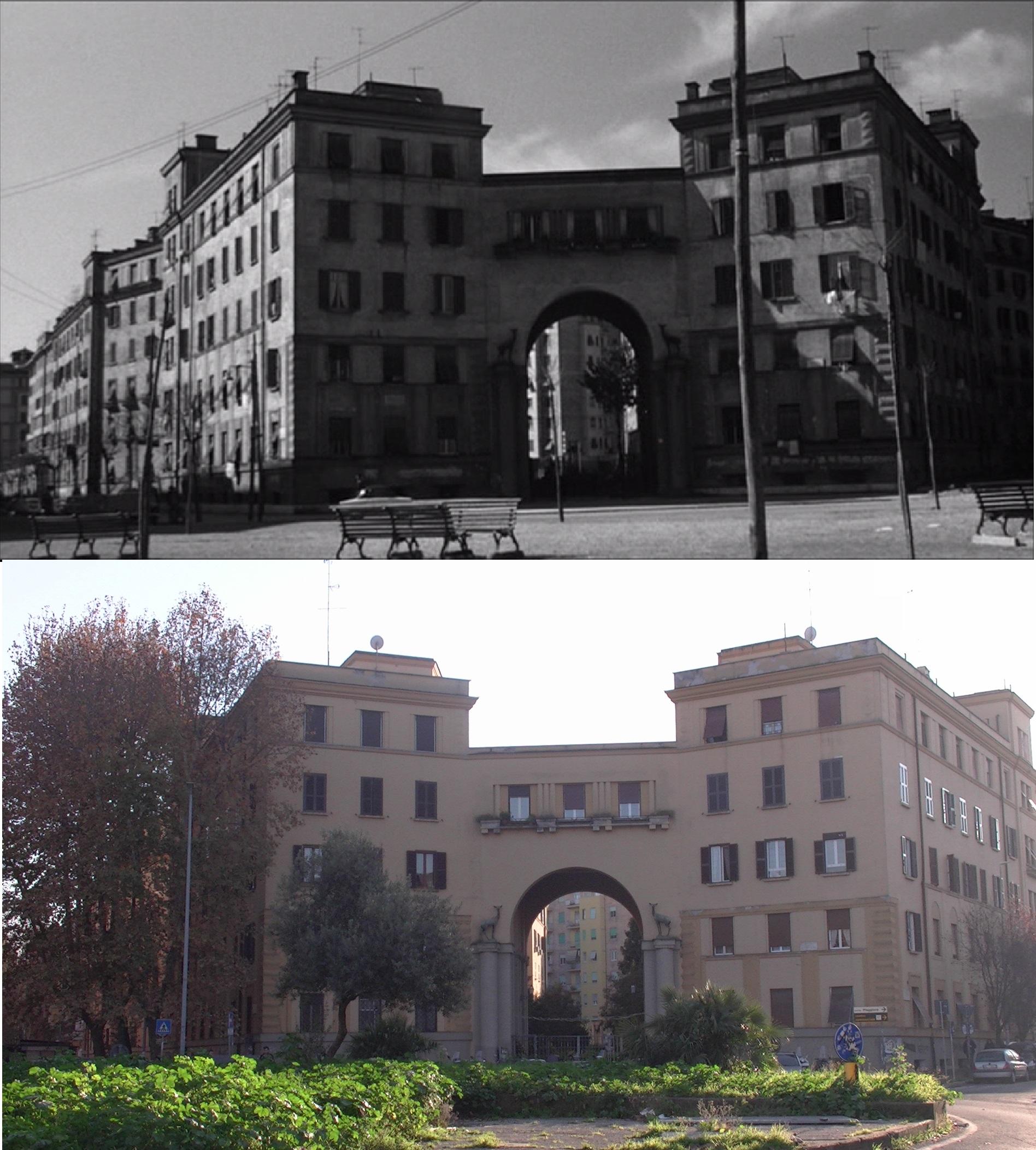 Casal Bertone - ex Palazzo dell'ente Ferrovie