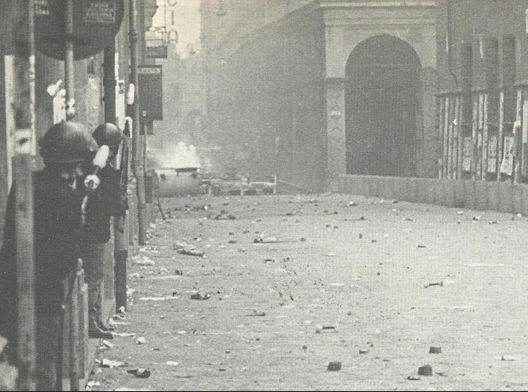 Via Zamboni Bologna 11 marzo 1977
